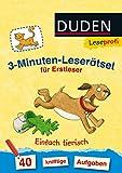 Leseprofi – 3-Minuten-Leserätsel für Erstleser: Einfach tierisch: 40 knifflige Aufgaben (DUDEN Leseprofi Minuten Leserätsel)