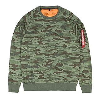 Alpha Industries Herren Oberteile/Pullover X-Fit camouflage M