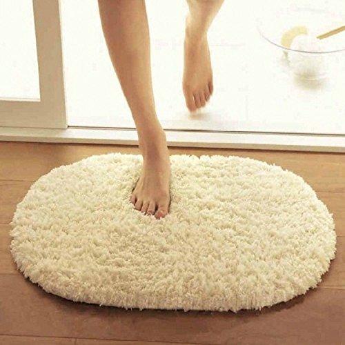 C & H/ovale da bagno mat-slippery water-absorbing Tappetini cucina bagno porta ZERBINO - Ovale Mat
