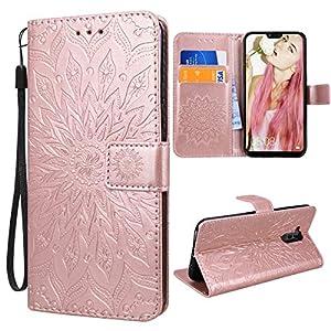 VemMore für Huawei Mate 20 Lite Hülle Handyhülle Schutzhülle Leder PU Wallet Flip Case Bumper Lederhülle Ledertasche…