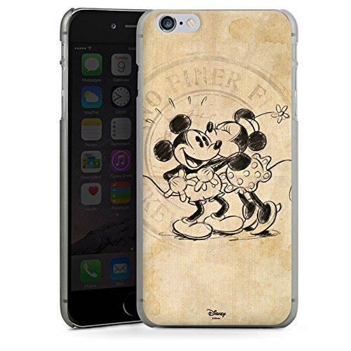 Apple iPhone 8 Plus Silikon Hülle Case Schutzhülle Disney Minnie & Mickey Mouse Geschenke Merchandise Hard Case anthrazit-klar