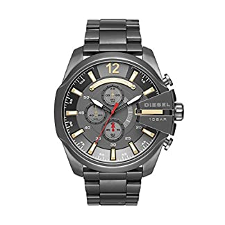 Diesel Reloj Analógico para Hombre de Cuarzo con Correa en Acero Inoxidable DZ4421