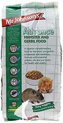 Mr Johnson's Advance Hamster and Gerbil Food, 750 g by Mr Johnson's