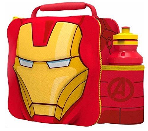 Marvel Charakter 3D Thermo Mittagessen Tasche (Iron Man) -