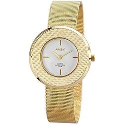Akzent Damen-Armbanduhr Analog Quarz verschiedene Materialien SS8202000012