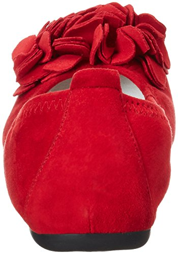 Andrea Conti 0097407, Ballerines femme Rot (Rot)
