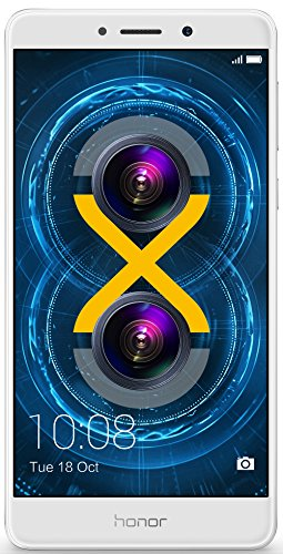 Huawei Honor 6X (Silver, 32GB) 4G Smart Phone 3GB Ram Dual Back Camera