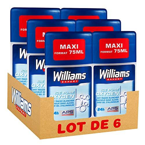 Williams desodorante hombre Stick Ice pure 75ml-PACK