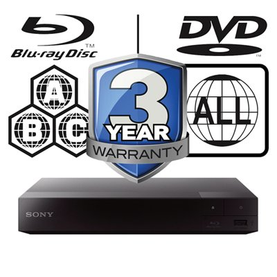 Sony Blu-ray Multi Region