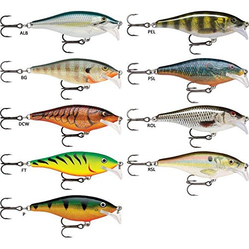 Rapala Scatter Rap Shad 70, color 70 mm (7.0 gr), talla 7.0 gr