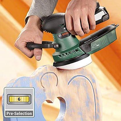 Bosch AdvancedOrbit 18 – Lijadora excéntrica a batería (sin batería, hoja lijadora, en caja de cartón, sistema 18 V)