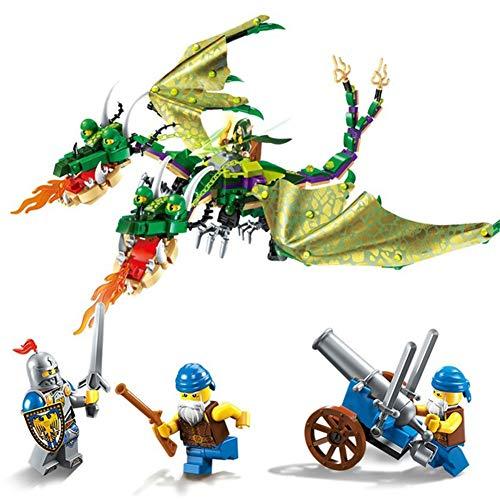 e Serie montiert Bausteine   Doppelhahn Awakening Puzzle der Kinder montiert Spielzeug Geburtstagsgeschenke ()