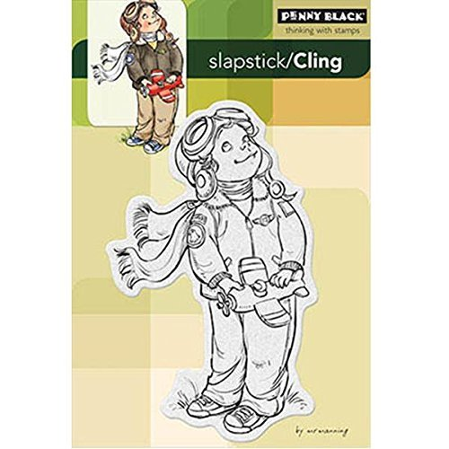 Penny Black Decorative Rubber Stamps, Air-Boy by