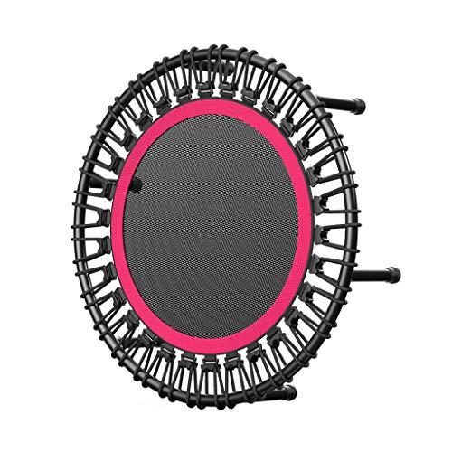 Boden Trampoline Outdoor Indoor Bungee Sport Jumping Fitness Tragbares und faltbares Trampolin - 40-Zoll-Sprungmatten-Safe zur Sicherheit Geräuschreduzierung Sicheres Bungee-Seil-System Fitness-Tram