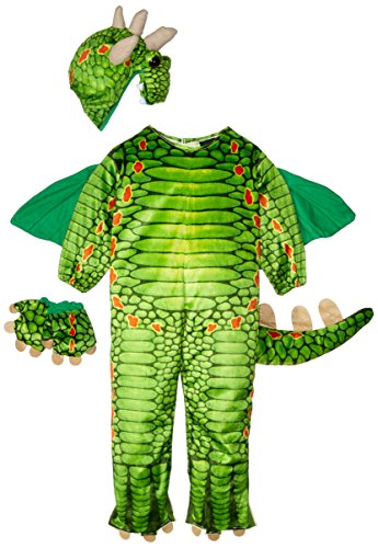 Dragon Drache Kinder Baby Kostüm Fasching Karnevall Junge gift grün 6-12 Monate (68/74) (Magic Dragon Girls Kostüme)