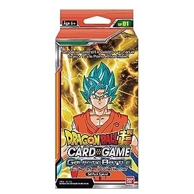 Set pack spécial 1 serie 01 Dragon Ball Super Card Games jeu de carte à collectionner VF