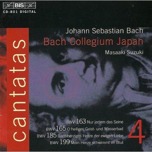 Barmherziges Herze der ewigen Liebe, BWV 185: Recitative: Die Eigenliebe schmeichelt sich! (Bass)