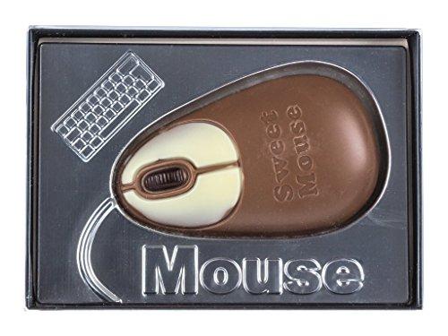 Boite cadeau - chocolat en forme de souris d'ordinateur - 60 g