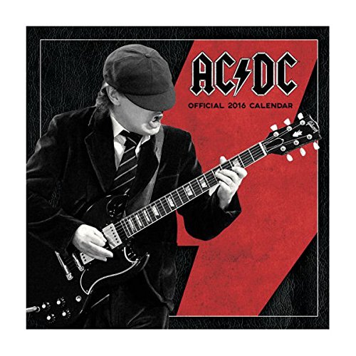 AC/DC 2016calendario da parete