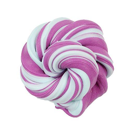 Wunderschönen Farbe Squishies Lehm Schlamm Scherzt Lehm-Spielzeug Wolken-Zuckerwatte-Schlamm Bunter Mischender Vent Spielzeug Squeeze Stress Relief Spielzeug