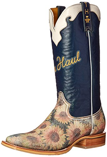 tin-haul-shoes-womens-sunflower-western-boot-navy-yellow-55-m-us
