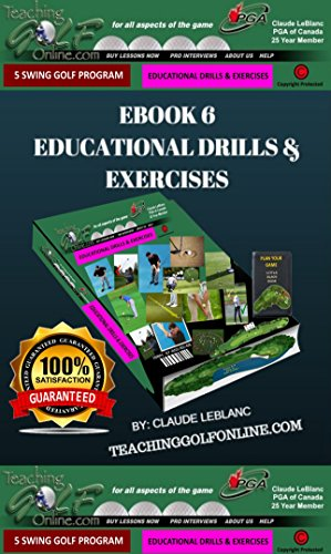 EBOOK 6: EDUCATIONAL DRILLS AND EXERCISES: TEACHING GOLF ONLINE ...