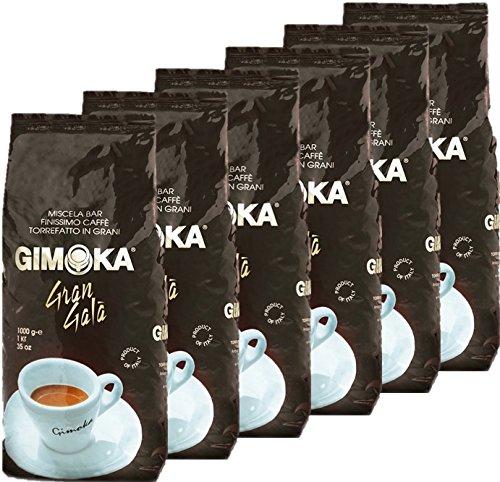6 x 1kg Kaffeebohnen Gimoka Gran Gala  (6 x 1kg)