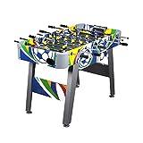 4ft Table Foosball con grafica laminato Ludoteca calcio Tempo libero Sport immagine