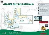 Sportbootkarten Satz 4: Großer Belt bis Bornholm (Ausgabe 2016)