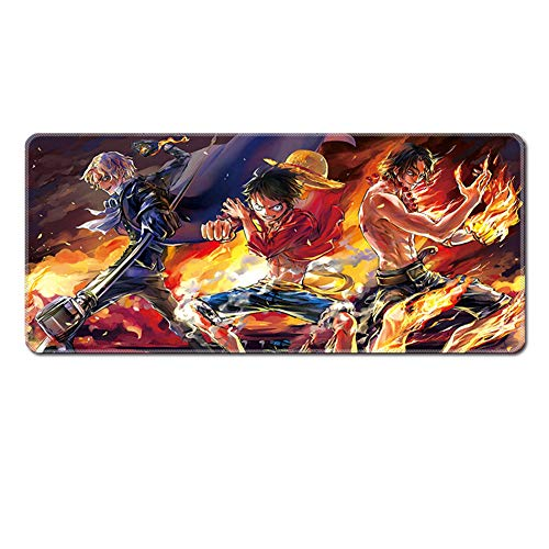 Gaming Mouse Pad XXL |XXL Mouse Pad |Extended Mouse Pad| Large Mouse Pad 900x400x3mm|1000 * 400 * 3|1200 * 500 * 3 Gaming Mouse PadXXL |One Piece Mouse Pad|Anime Mouse Pad (Mouse Anime Pad)