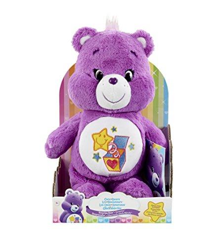 vivid-imaginations-care-bears-surprise-bear-plush-toy-with-dvd-multi-colour