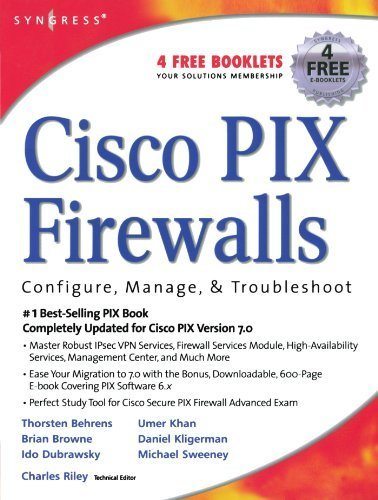 Cisco PIX Firewalls: configure / manage / troubleshoot 1st edition by Charles Riley (Editor), Umer Khan, Michael Sweeney (2005) Paperback
