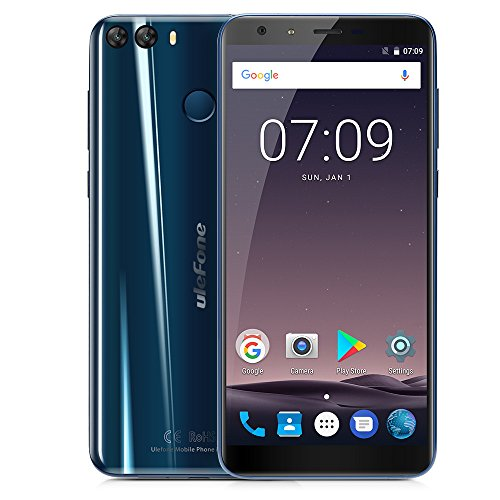 Ulefone Mix 2 - 4G Smartphone Libre (Android 7.0, 5.7' 18:9...