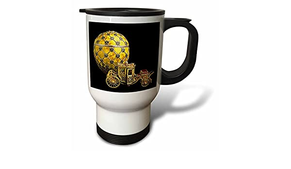 Buy 3drose Picturing Faberge Egg Coronation Travel Mug 14 Ounce Online At Low Prices In India Amazon In