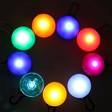 Sicherheits Clip-on LED Blinklicht, LED Licht Leuchtanhänger Schlüsselanhänger 3 Blinkmodis für Kinder,Läufer,Jogger,Walker,Fahrradfahrer,Outdoor Tiere Wie Hunde,Katze