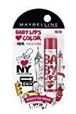 #8: Maybelline Alia Loves New York Baby Lips Lip Balm, Manhattan Mauve, 4g