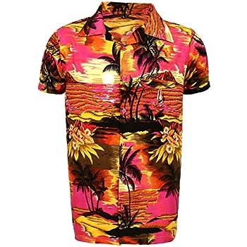 af4c3cbdd Mens Hawaiian Shirt STAG Beach Hawaii Aloha Party Summer Holiday Fancy BP  (L, PI BPN)