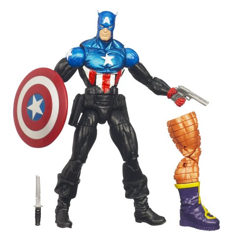 Marvel Legends Arnim Zola Kollektion - Captain America [UK (Teile Captain Kostüm America)