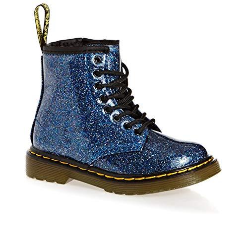 Dr. Martens Mädchen 1460 Glitter T Kurzschaft Stiefel, Blau (Blue 400), 27 EU