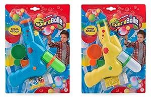 Globo Toys Globo 32271 - Pistola de Agua de Burbujas de Verano, 2 Colores