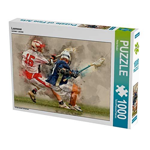 CALVENDO Puzzle Lacrosse 1000 Teile Lege-Größe 64 x 48 cm Foto-Puzzle Bild von Peter Roder