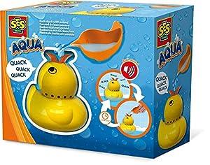 SES Creative Aqua Patito de baño con Sonido - Juegos, Juguetes y Pegatinas de baño (Juguete con Chorro de baño, Niños, 3 año(s), Niño/niña, Amarillo, Países Bajos)