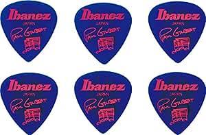 Ibanez B1000PG-JB - Plettri autografati Paul Gilbert, 6 pz, colore: Blu