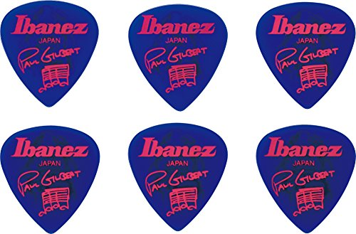 Ibanez B1000PG-JB Plektren Signature Modelle Paul Gilbert (6 Stück) blau Paulas Pick
