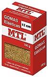 MTL 16369 - Caja gomas elásticas, 12 cm x 1.5 mm