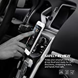 Car Phone Holder, Mpow Magnetic Phone Mount 360 Degree Swivel Car Cradle Universal MagGrip Air Vent Car Mount Phone Holder for iPhone 7 6 5S SE, Samsung S8 S7 S6 Note 5 4, LG, Sony, Huawei and Other Smartphone Bild 5