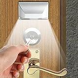 Türschloss Beleuchtung: Automatische 4*LED-Türbeleuchtung mit PIR-Bewegungssensor (Türlicht)