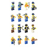 Best Lego Figures - MINTOYS® Law Disorder & Builders Mini Men Figures Review