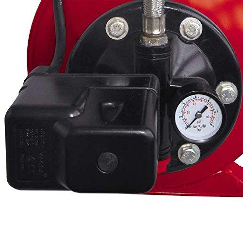 Einhell Hauswasserwerk GC-WW 6538 (650 W, 3800 l/h Fördermenge, max. Förderdruck 3,6 bar, Druckschalter, Manometer, 20 l Behälter) - 2