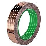 Benail 4 Rollen Kupferfolienband leitfähiger Klebstoff (1/4 Zoll x 57 Yards) für EMI-Abschirmung, Schlammabwehren, Basteln, Löten, Papierkreisen, elektrische Reparaturen, Erdung